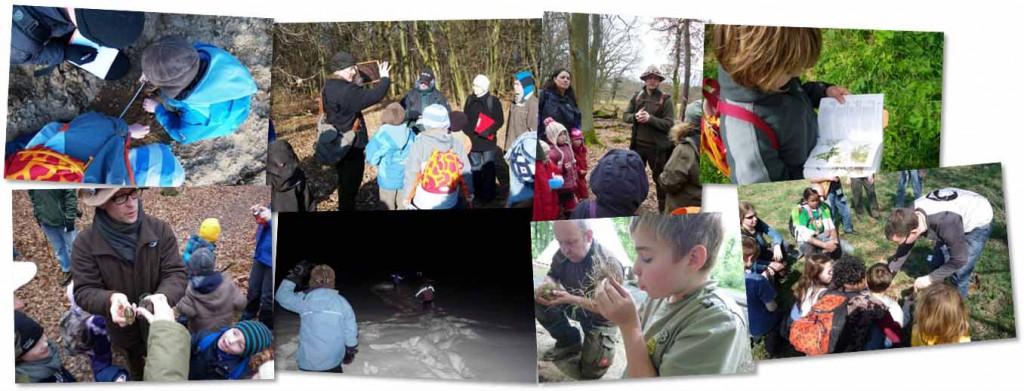 Gewinner über ihren Natur Erlebnis Tag 2015 Wurzeltrapp Wildnisschule