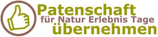 Patenschaft für Natur Erlebnis Tage übernehmen