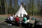 Wildnispädagogik Fortbildung 2016 in Hessen