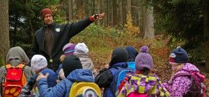 Natürlich lernen Natur Mentoring Coyote Teaching Wurzeltrapp Wildnisschule